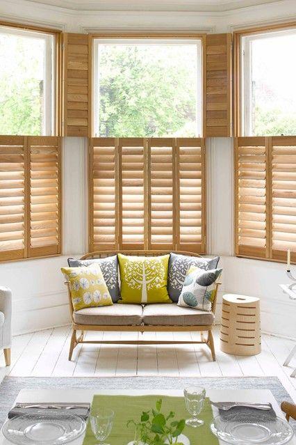 Fresh And Light Home Decor Interior Shutters Interior Window