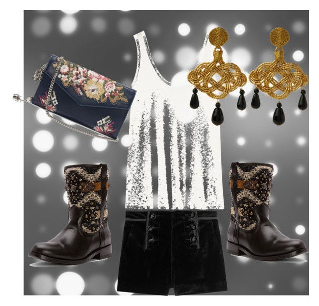"""""""Be cool"""" by francisca-cienfuegos on Polyvore featuring moda, Emilio Pucci, Frye, The Row, Anna e Alex y Alexander McQueen"""