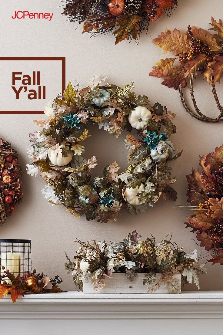Add some fall to your wall! When it comes to wreaths, think beyond ...