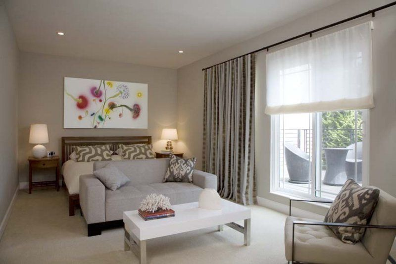 The Ultimate Luxury Is A Wall To Layered Window Covering That