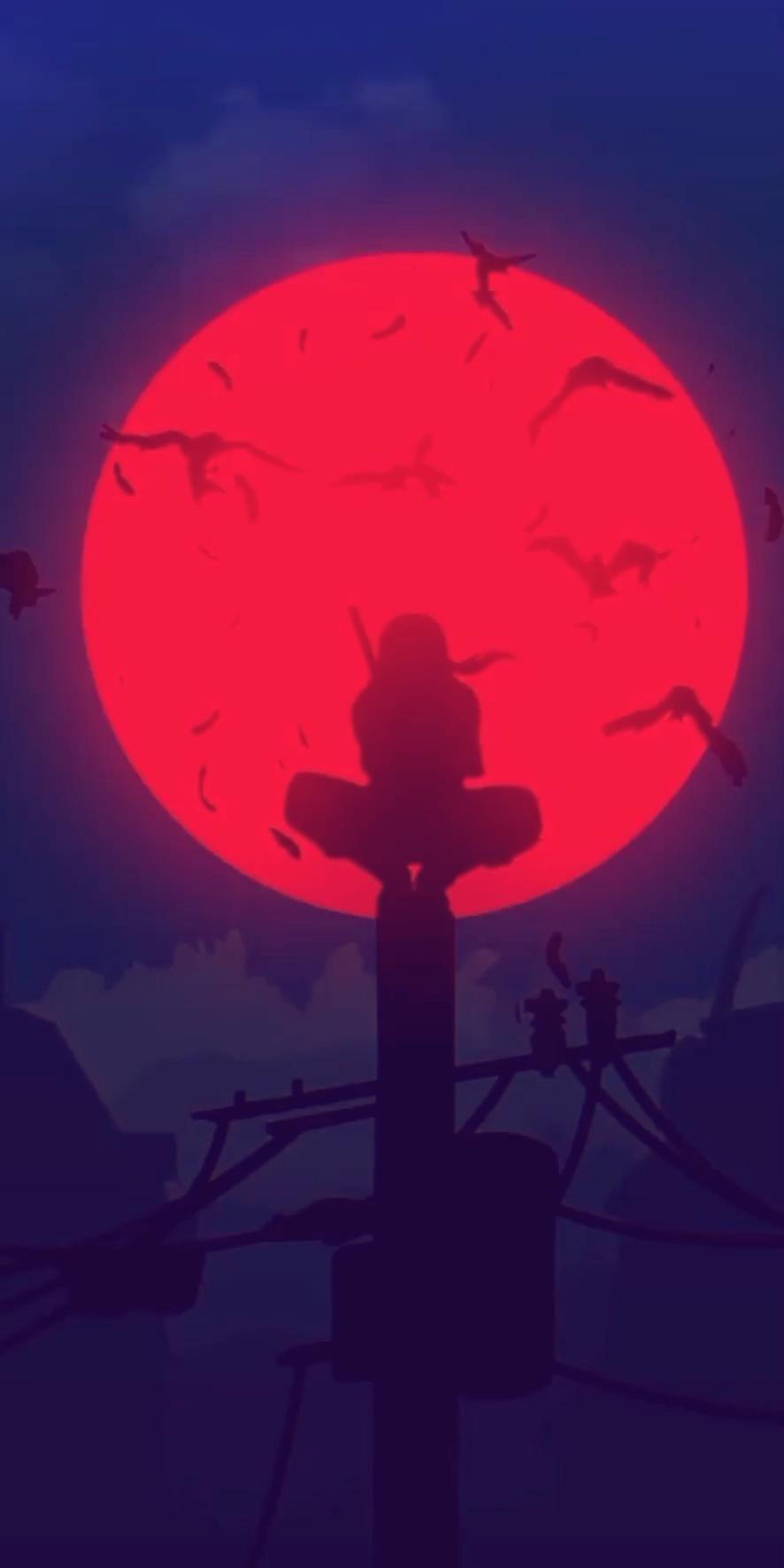 Hình nền động Naruto Uchiha Itachi