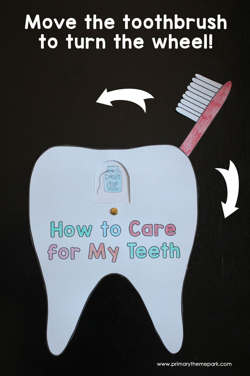 Move The Toothbrush To Turn The Wheel And Show Different Ways To Care For Your Teeth Like Brushing F Dental Health Activities Dental Health Dental Health Unit [ 1200 x 800 Pixel ]