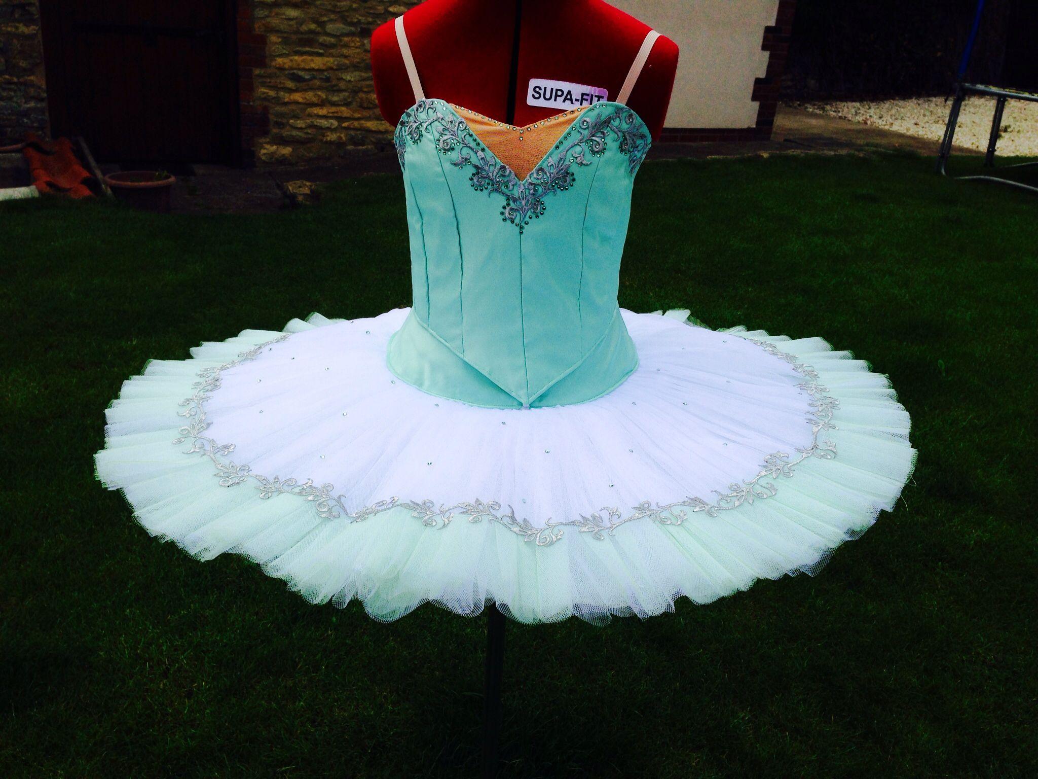 a96d0fe0c2964 Mint green ballet tutu pancake skirt. Made by Sewn by Sara Ballet Tutus.