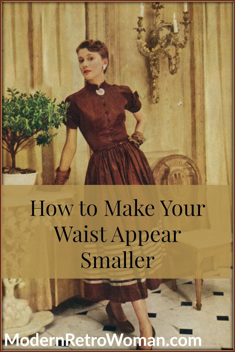 How to make your waist appear smaller than it is fit