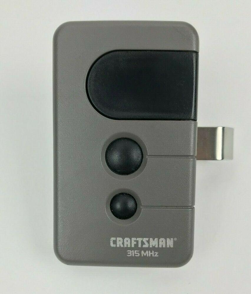 Craftsman 139 53753 Garage Door Remote 315mhz Tx2028 Building Opener Hardware Craftsman Garage Door Remote Garage Doors Ebay