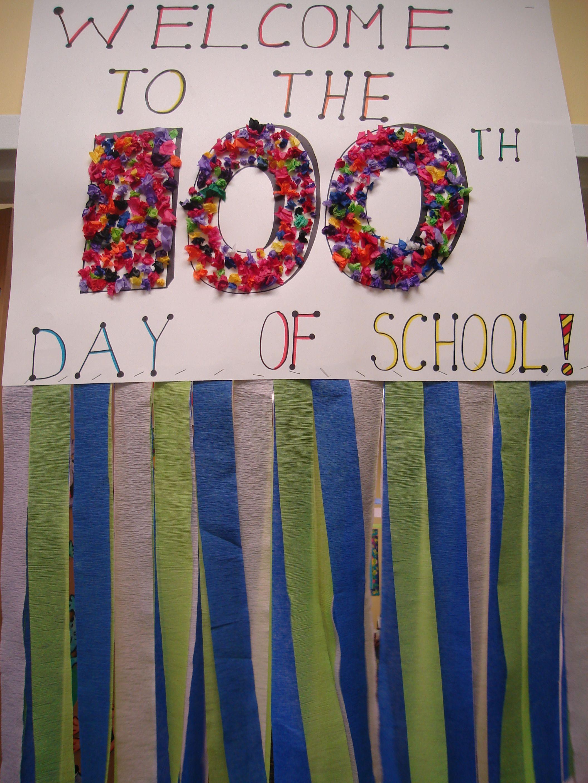100th day | School | Pinterest | 100 días, 100 días de clases y Escuela