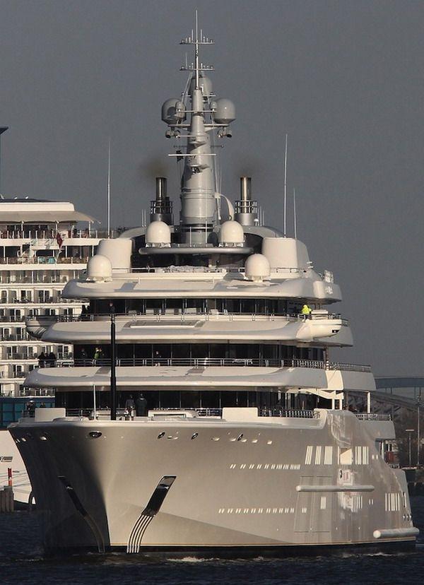 Rent Abramovich S Giga Yacht Eclipse Price 2 Million Per Week