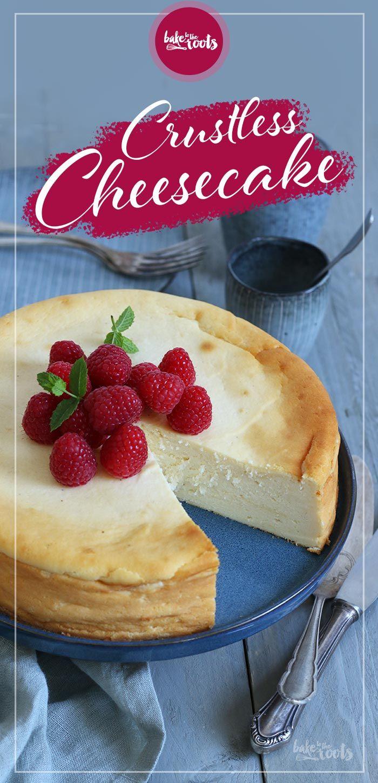 Käsekuchen ohne Boden | Bake to the roots #cheesecakerecipes