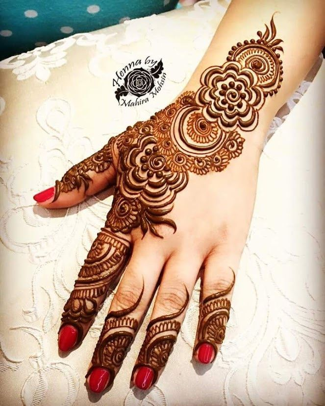 Cool Henna Designs For Girls: 35+Beautiful And Easy Eid Festival Mehndi Designs For