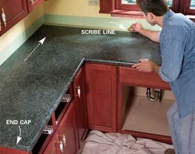 Install A Laminate Kitchen Countertop Replacing Kitchen