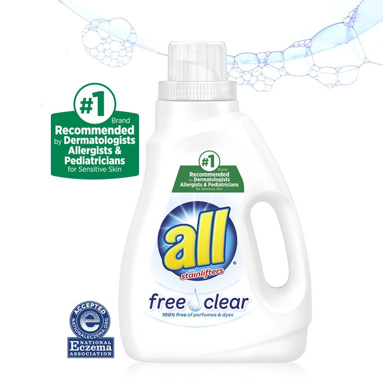 Our Best Liquid Laundry Detergent For Sensitive Skin All Free