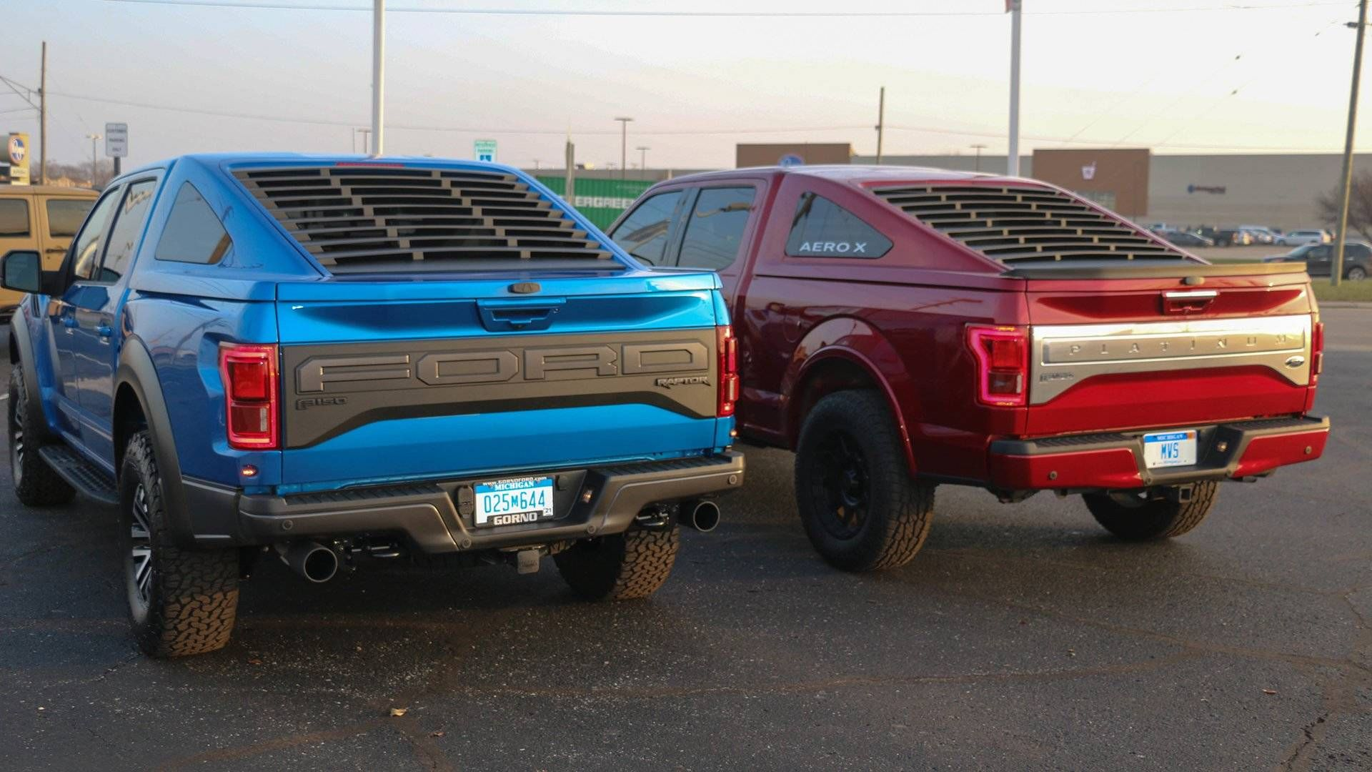 Ford F 150 Mustang Fastback Bed Cap Ford F150 Pickup Trucks Ford