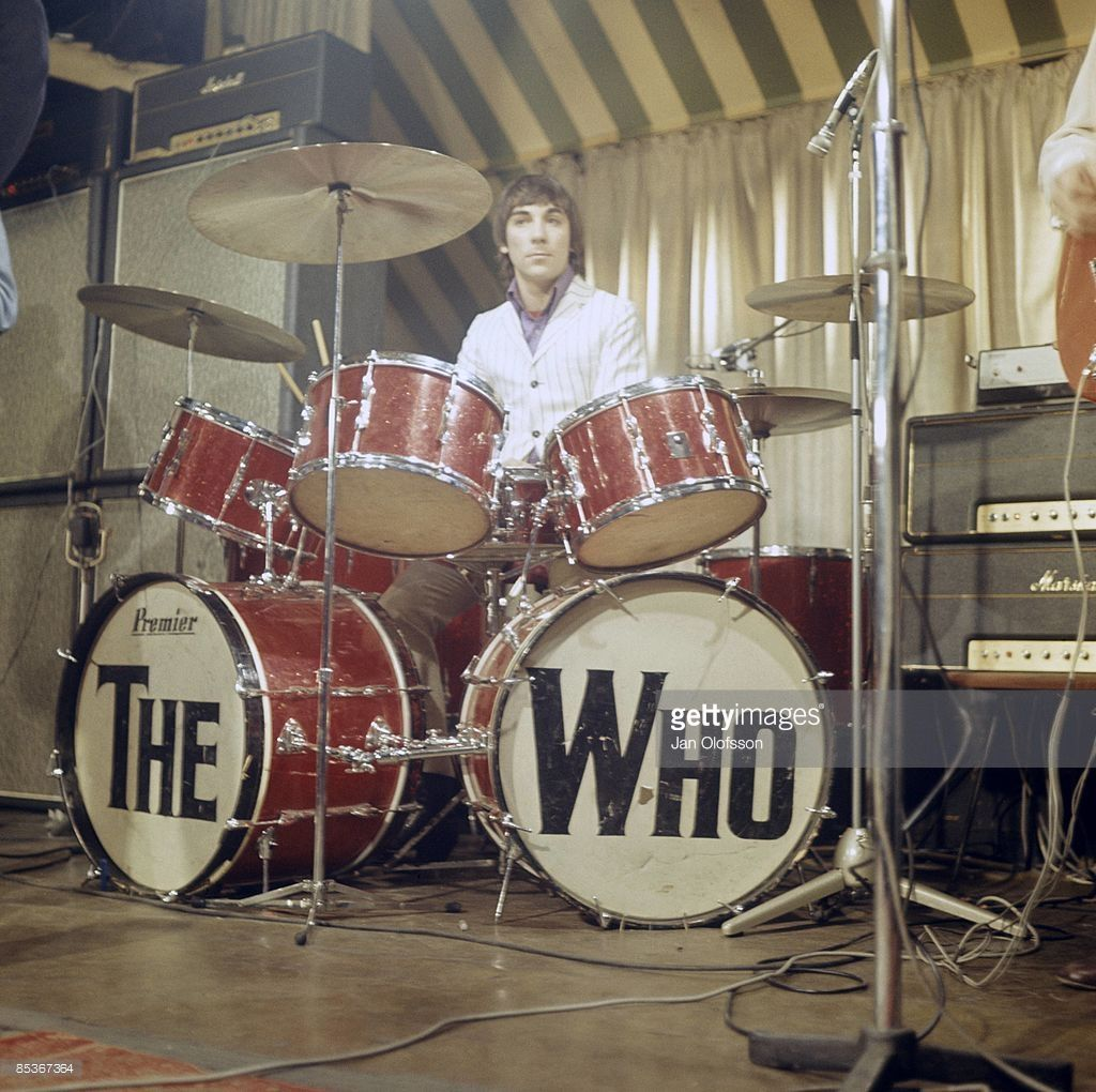 Photo Of Keith Moon And The Who Keith Moon Performing Live Onstage