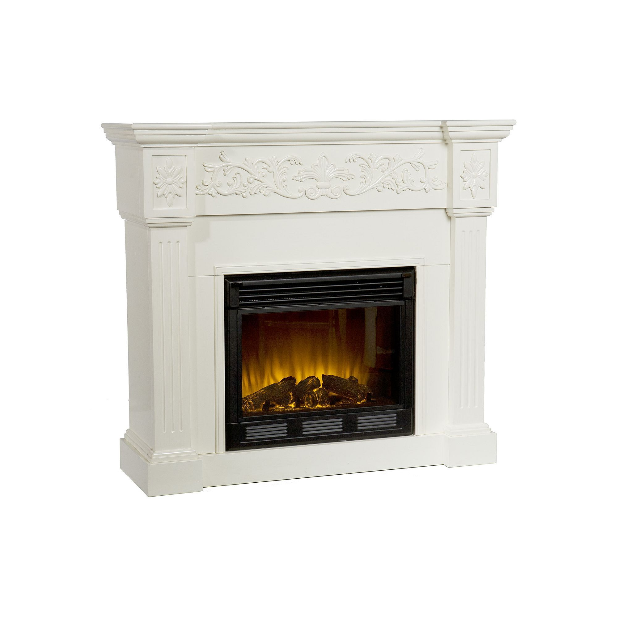 Calvert Electric Fireplace Multicolor Electric fireplaces and