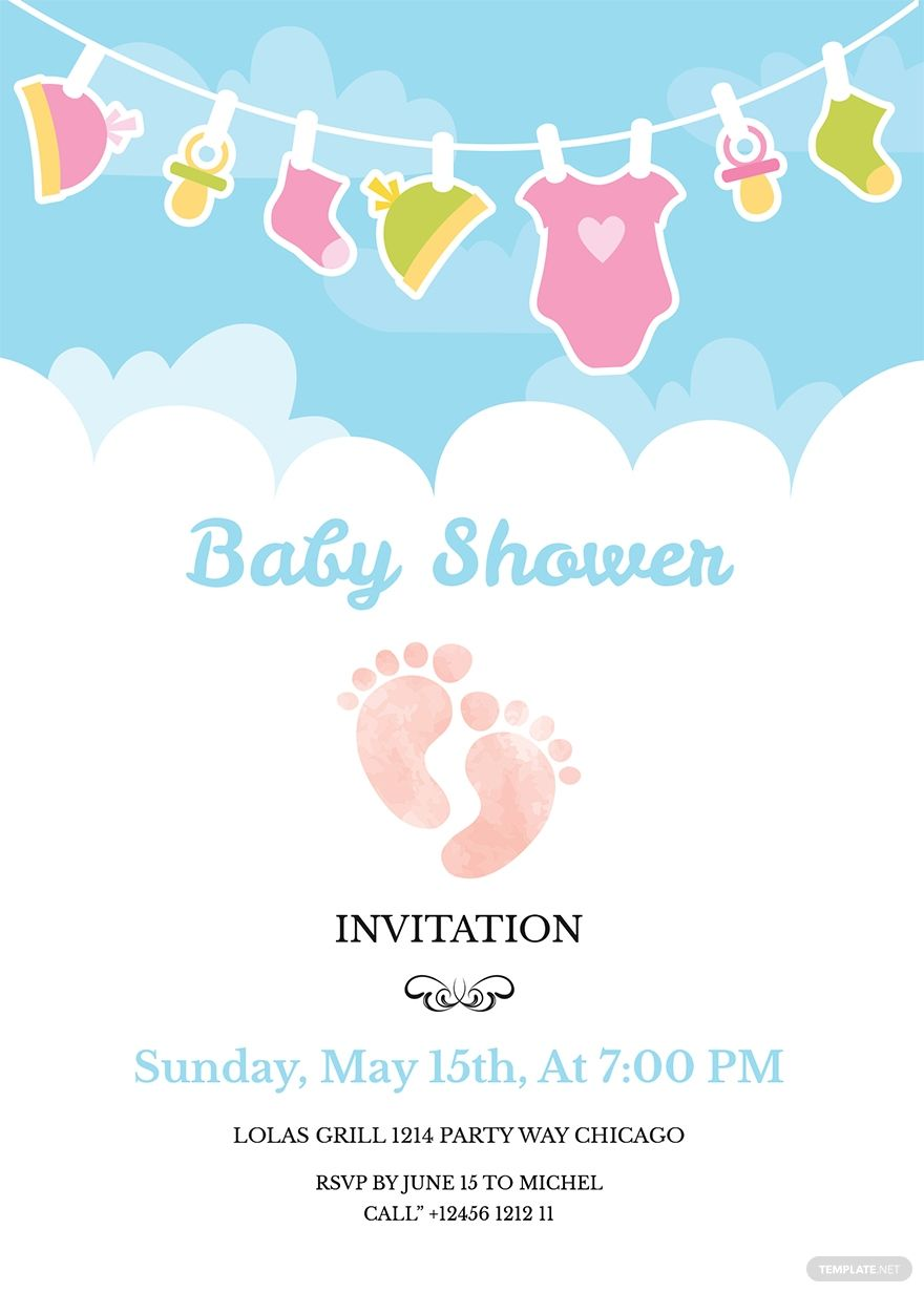Free Baby Shower Invitation Templates For Word Www Awalkinhell Sample Ba Free Baby Shower Invitations Baby Shower Invitations Design Purple Baby Shower Invites