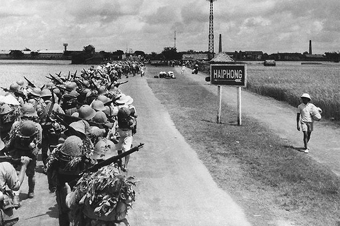 In 1941 with the war in full swing 140000 japanese troops invaded in with the war in full swing japanese troops invaded an occupied southern indochina including saigon pictured in the photo at the beginning of the publicscrutiny Choice Image