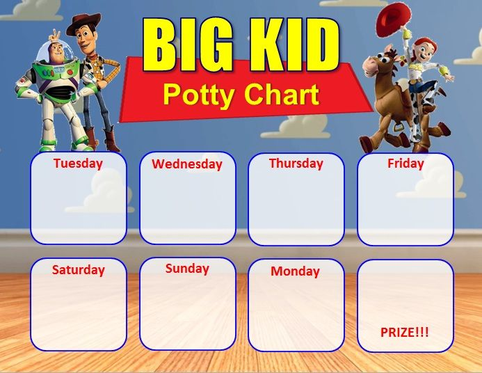 Toy Story Potty Training Chart : Cape cod mommy fun potty training pinterest