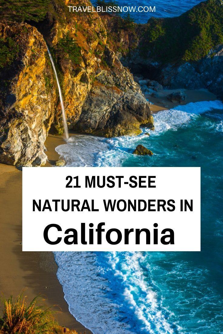 21 Must-See Natural Wonders in California