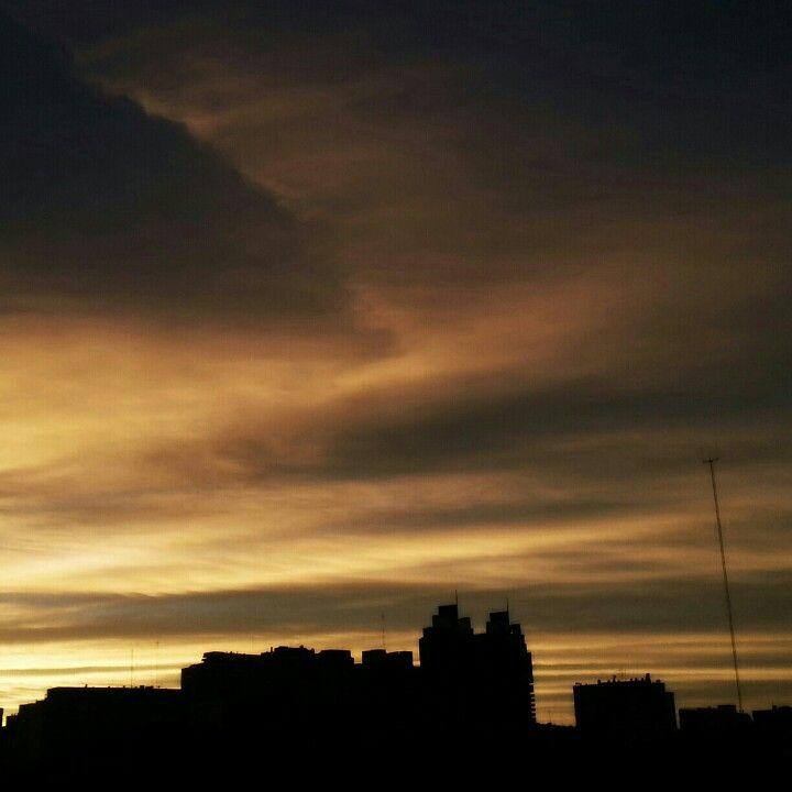 Last 2012 sunset