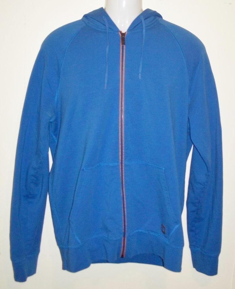 cf3a4a162 Men s Hugo Boss Orange Full Zip Hoodie Sweatshirt Jacket Size XXL Blue  Hooded  HugoBossOrange  Hoodie
