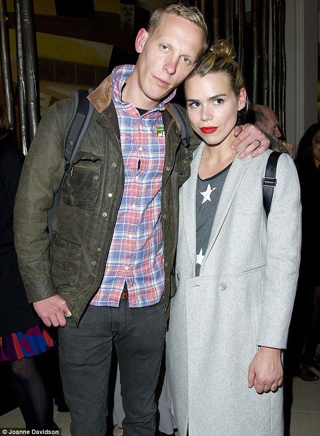 Laurence Fox & Billie Piper Our Boys first night October