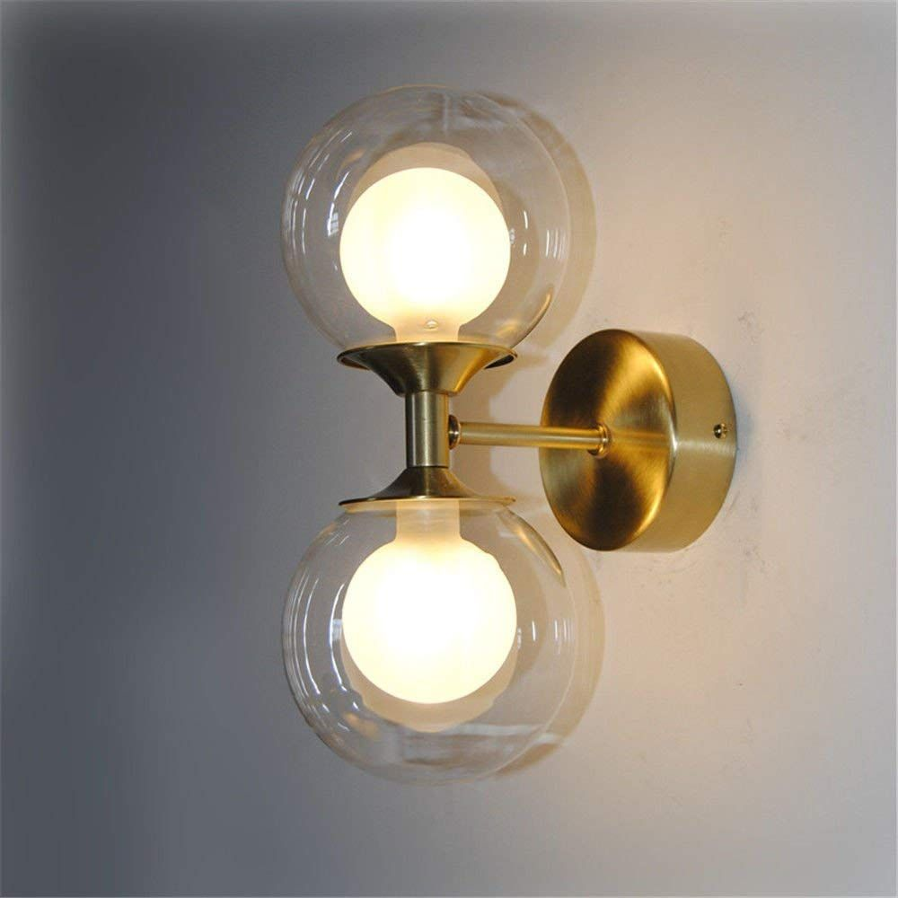 Wall Lights European Retro Industrial Wind Decoration Lamp Brass