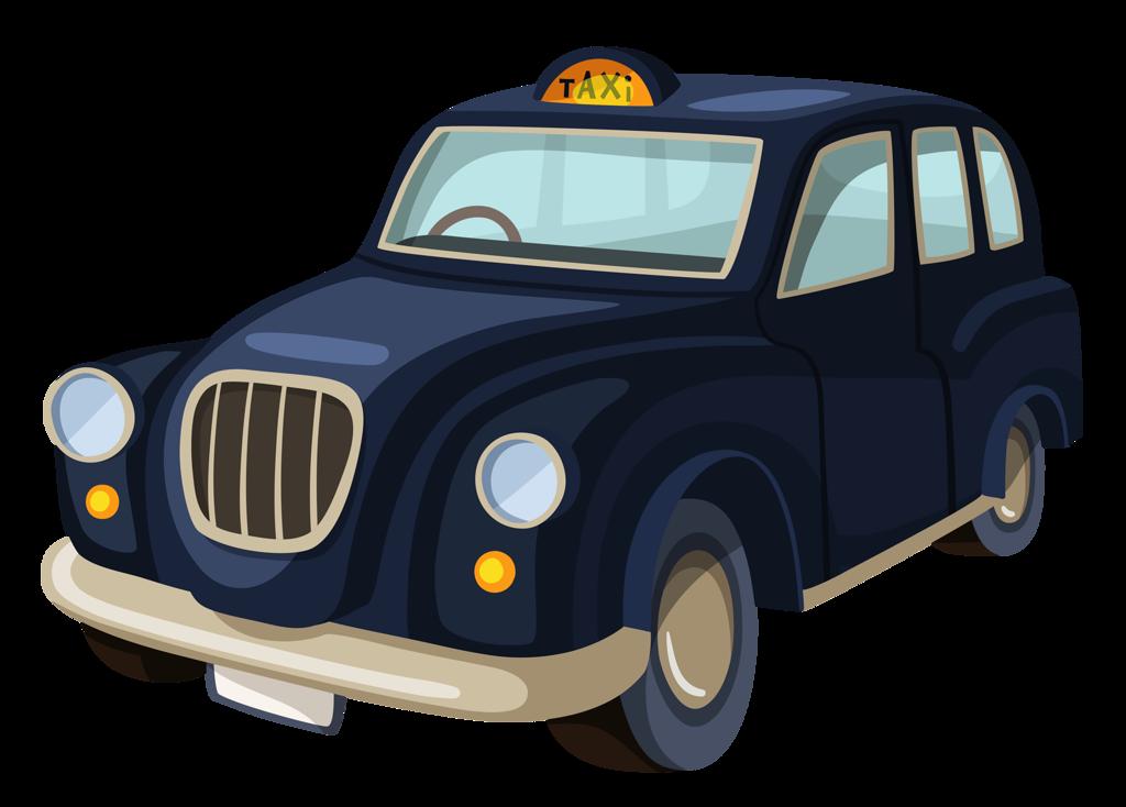 когда картинка машина такси рисунок стало
