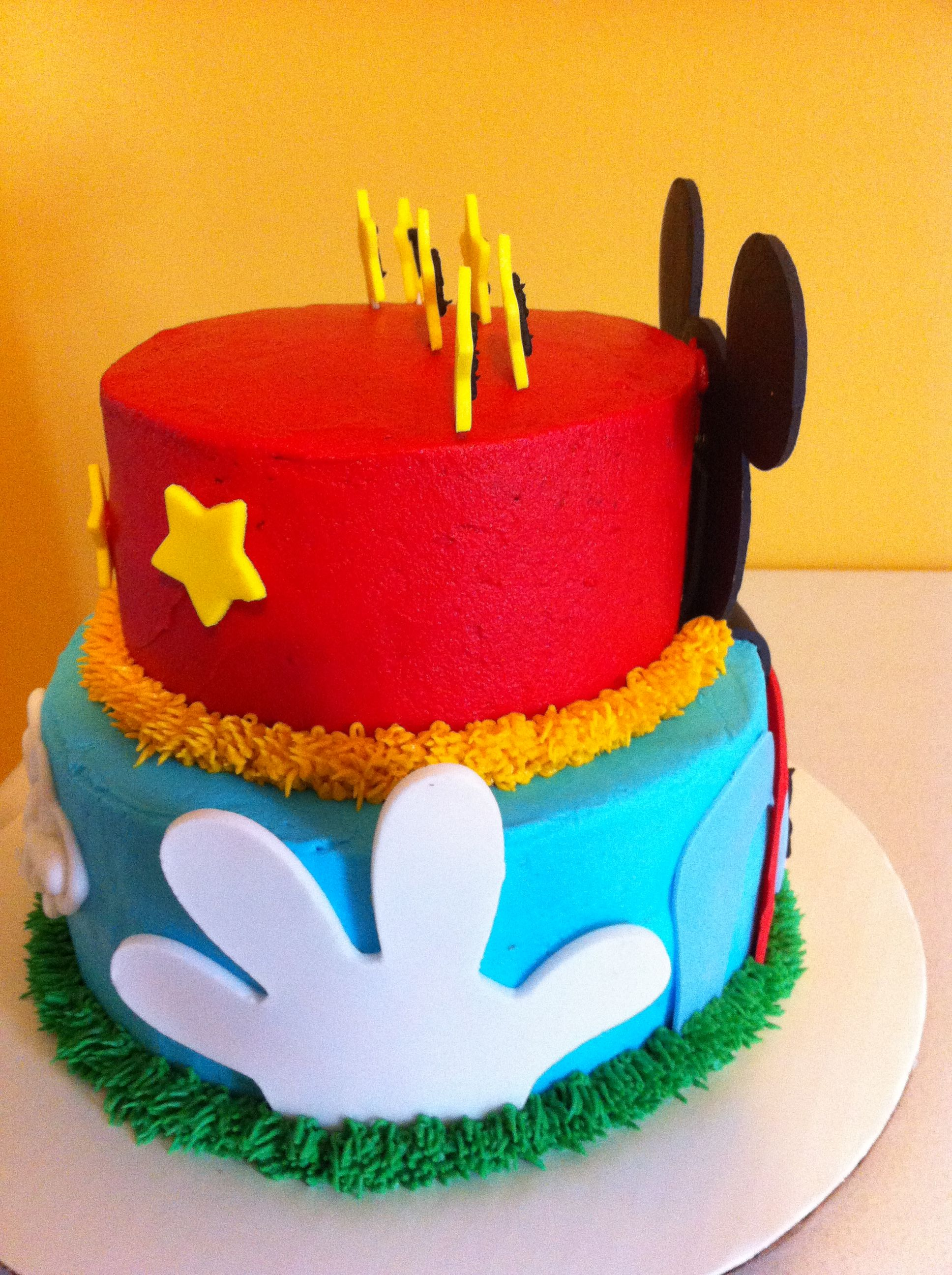Mickey mouse club house   Cake decorating   Pinterest ...