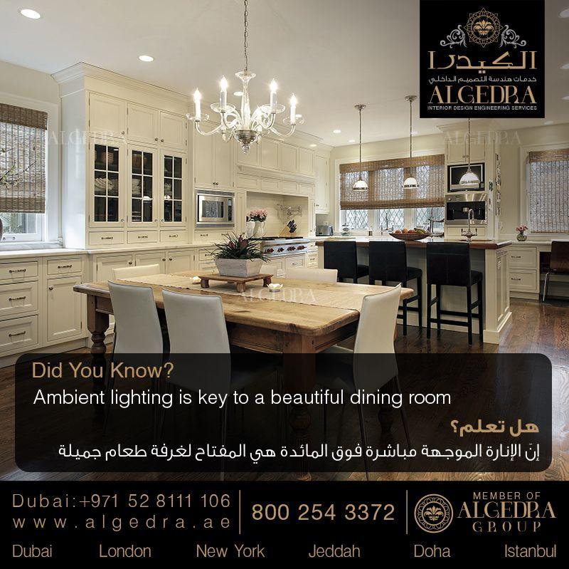 Pin By Algedra On Life Habits Interior Design Dubai Interior Design Companies Luxury Dining Room