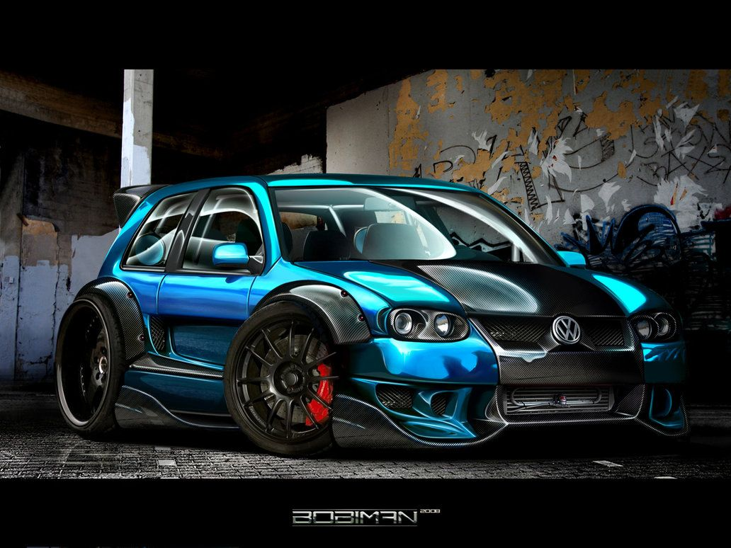 Extreme Golf Iv By Bobiman On Deviantart Cool Car Pictures Car Volkswagen Cool Wallpapers Cars