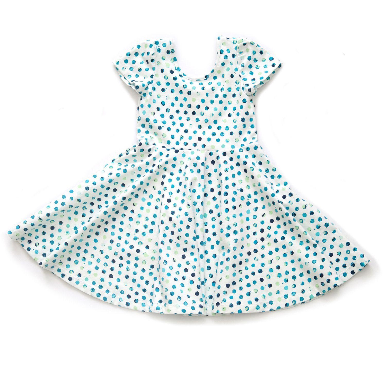 Summer Skater Dress in Fresco Dots