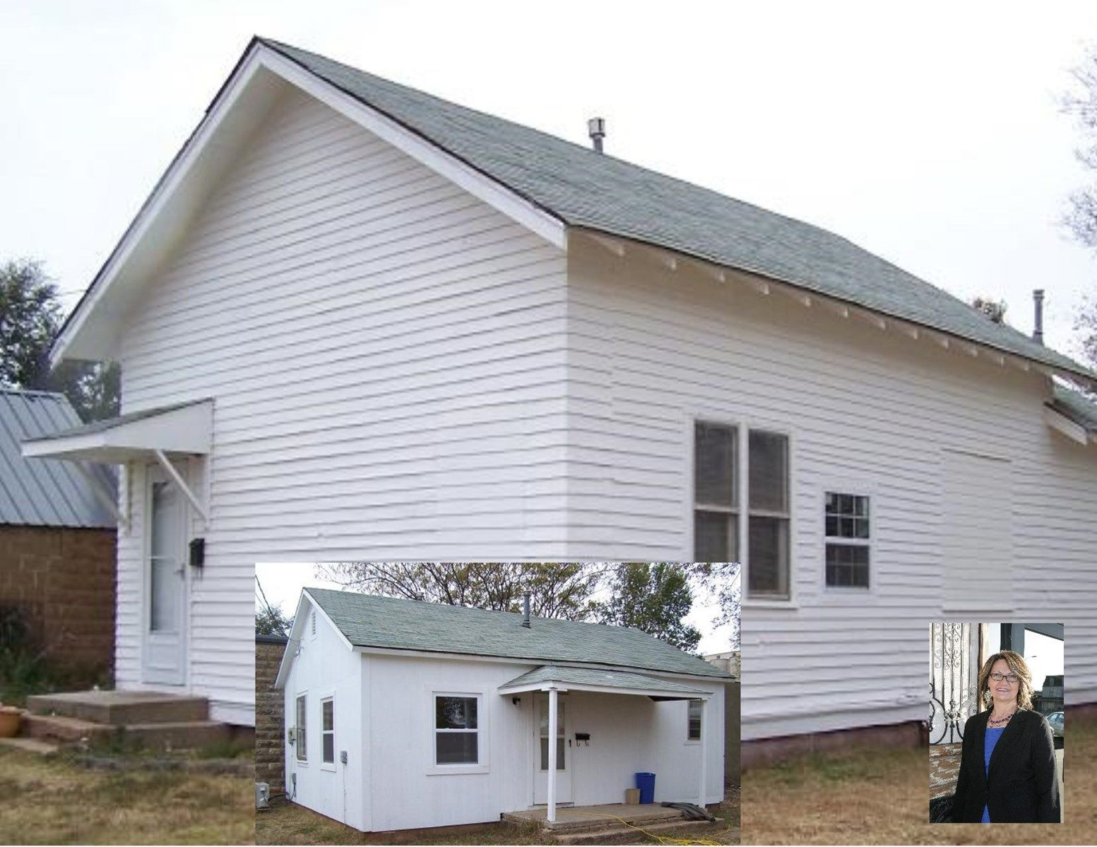 Two Homes, One Price! 207 & 207 1/2 College Ave, Alva, OK