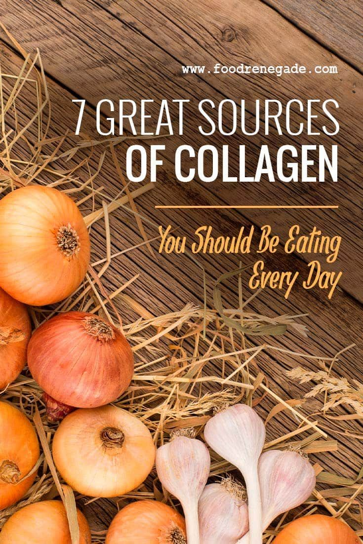 what food contains collagen protein