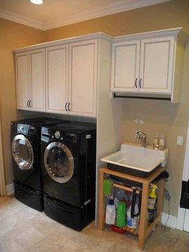Laundry Room Premier Antique White   Traditional   Laundry Room   New York    All About · Laundry RoomsClosets