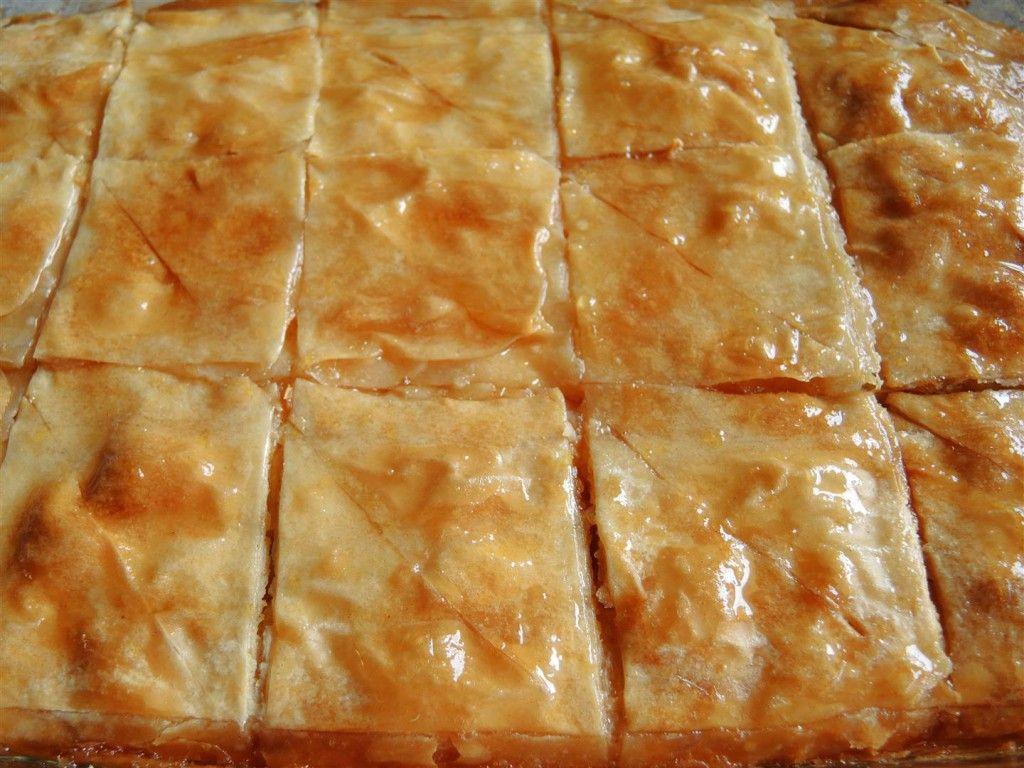 Galaktobóuriko – griechische Pastete mit Vanillecreme