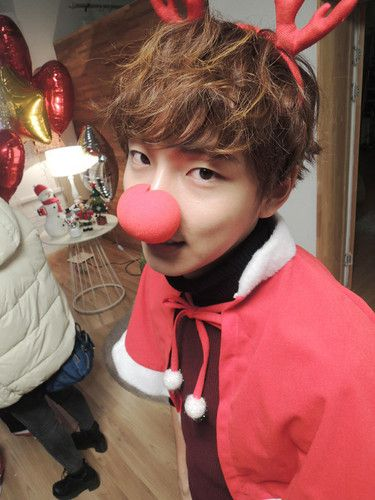 Image result for pictures of Yoon SHi Yoon Merry Christmas