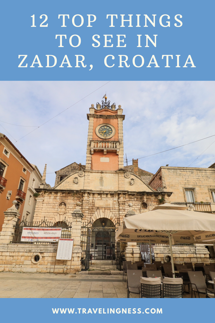 Zadar Is A Charming City Along Croatias Adriatic Sea Visit