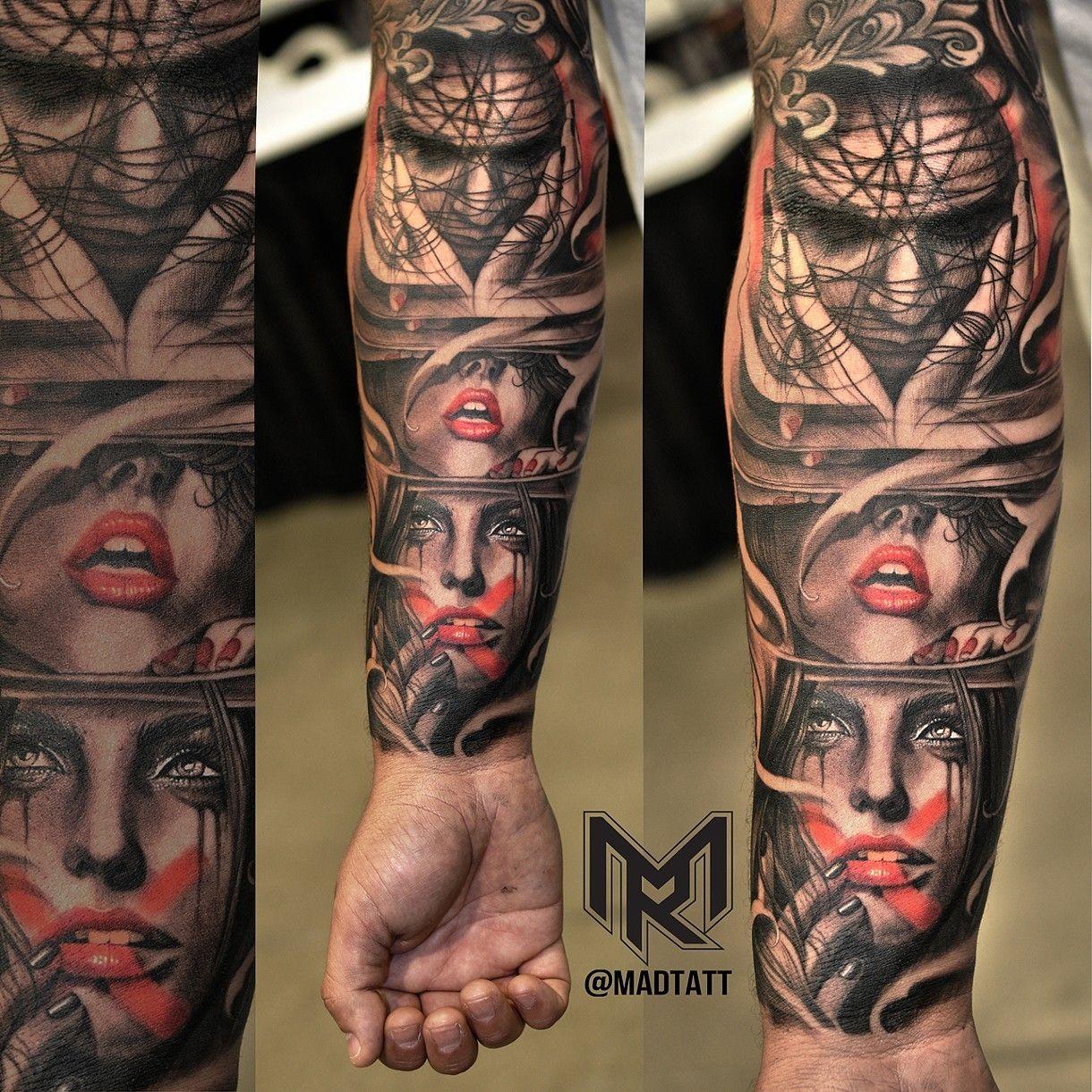 Hear No Evil See No Evil Speak No Evil Evil Tattoos Monkey Tattoos Realistic Tattoo Sleeve