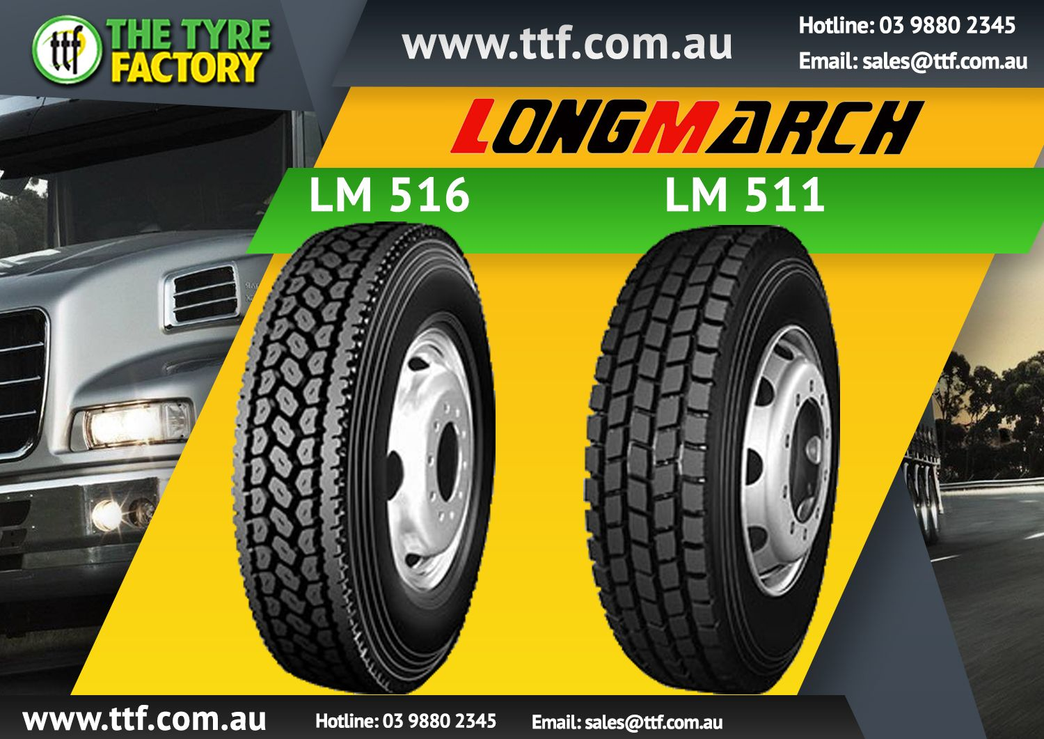 Great range of wheels & tyres TTF