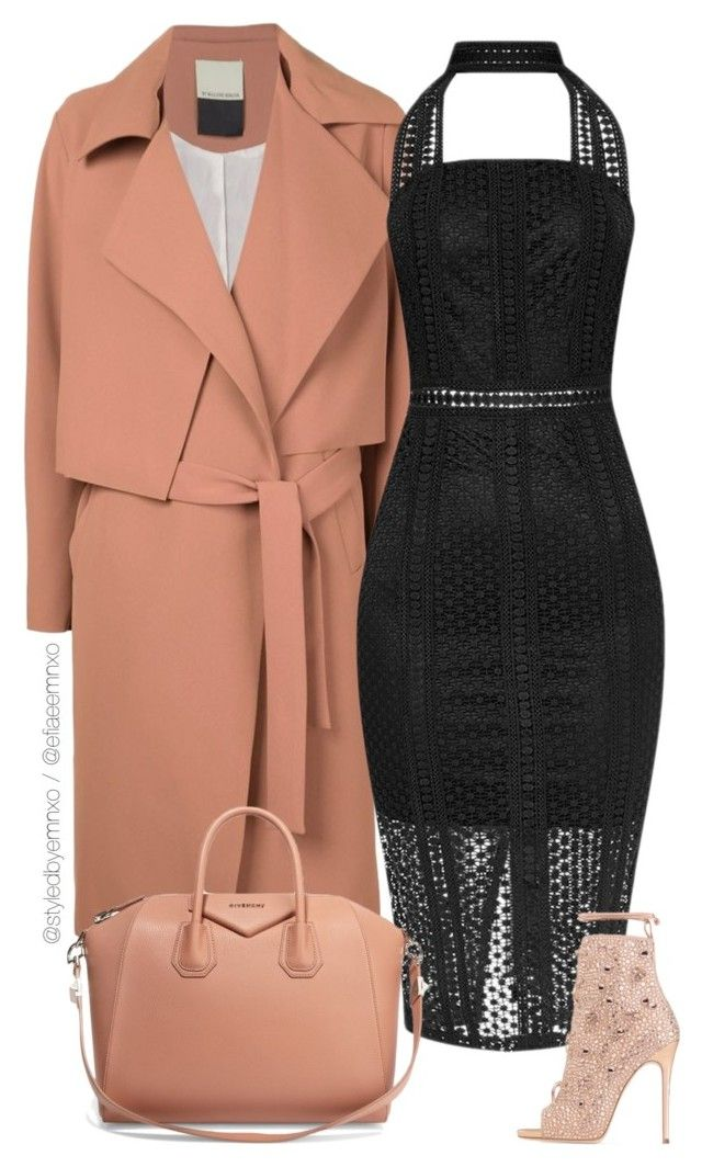 """Classy choker dress"" by efiaeemnxo ❤ liked on Polyvore featuring By Malene Birger, Givenchy, sbemnxo, styledbyemnxo and chokerdress"