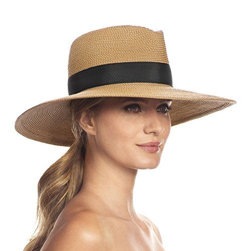 Eric Javits Luxury Designer Women/'s Headwear Hat Georgia Natural Mix