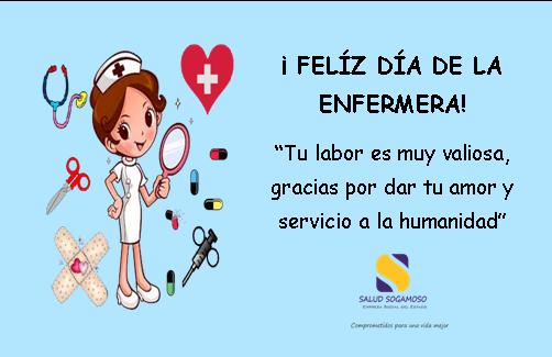 Imagenes De Feliz Dia De La Enfermera Con Frases Y Mensajes Para El  De Mayo