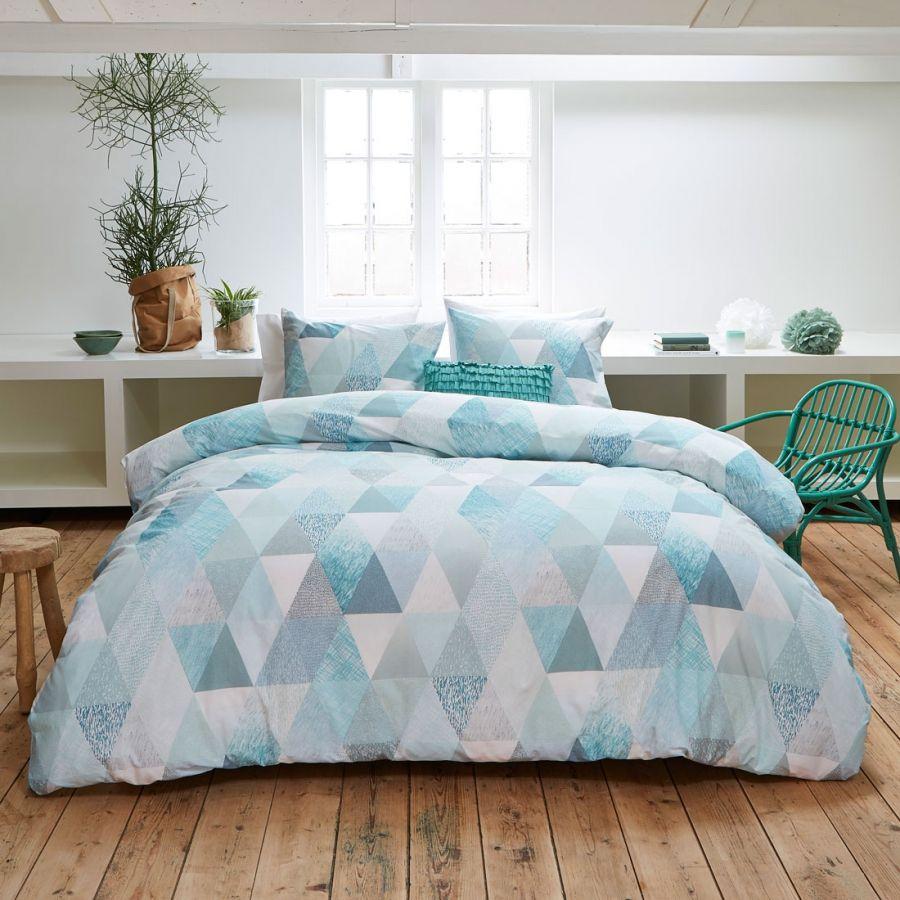 bettwäsche saba - baumwolle - blau - 155x220 + 1x80x80 | color of, Schlafzimmer entwurf