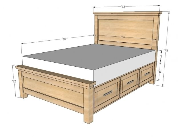 23 Popular Collection King Size Bed Headboard Dimensions Bed