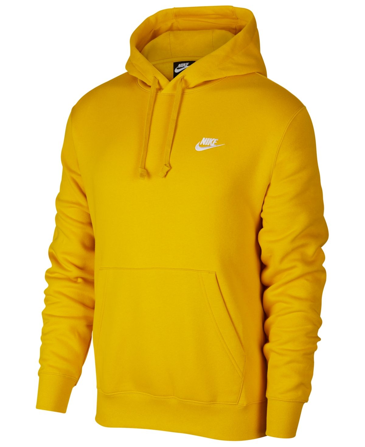 Nike Men S Sportswear Club Fleece Pullover Hoodie Reviews All Activewear Men Macy S Mens Sportswear Mens Sweatshirts Hoodie Hoodies [ 1467 x 1200 Pixel ]