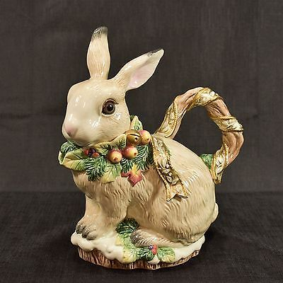 RABBIT /& CO 3 PIECE STOVE TOP EASTER BUNNY SPOON REST,SALT /& PEPPER SHAKERS NEW