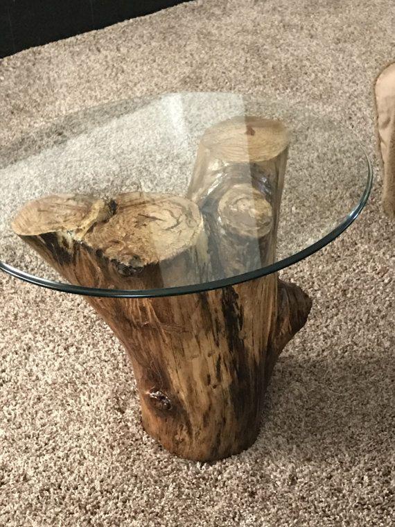 Mesa de tronco de árbol | Diseño de muebles | Pinterest | Mesa de ...