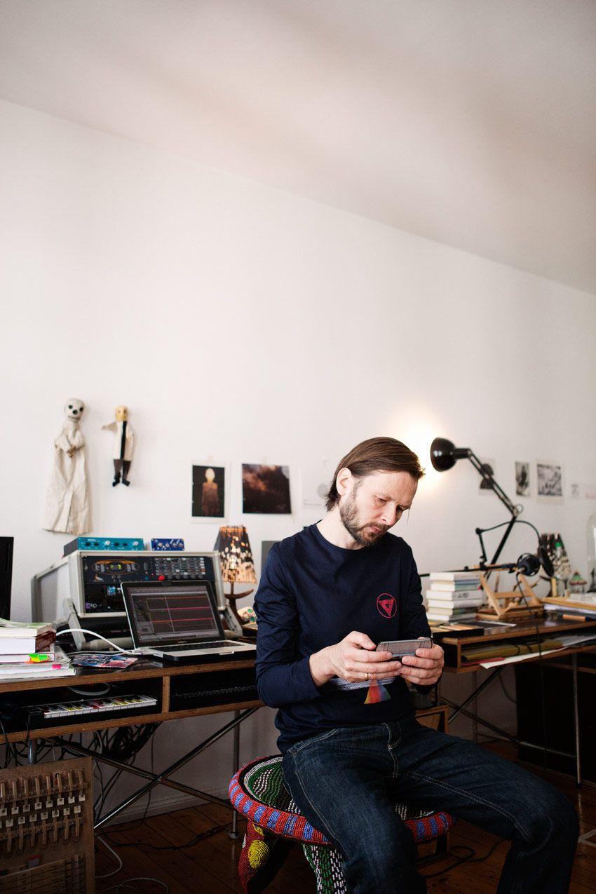 Robert Lippok Studio 音楽制作 スタジオ