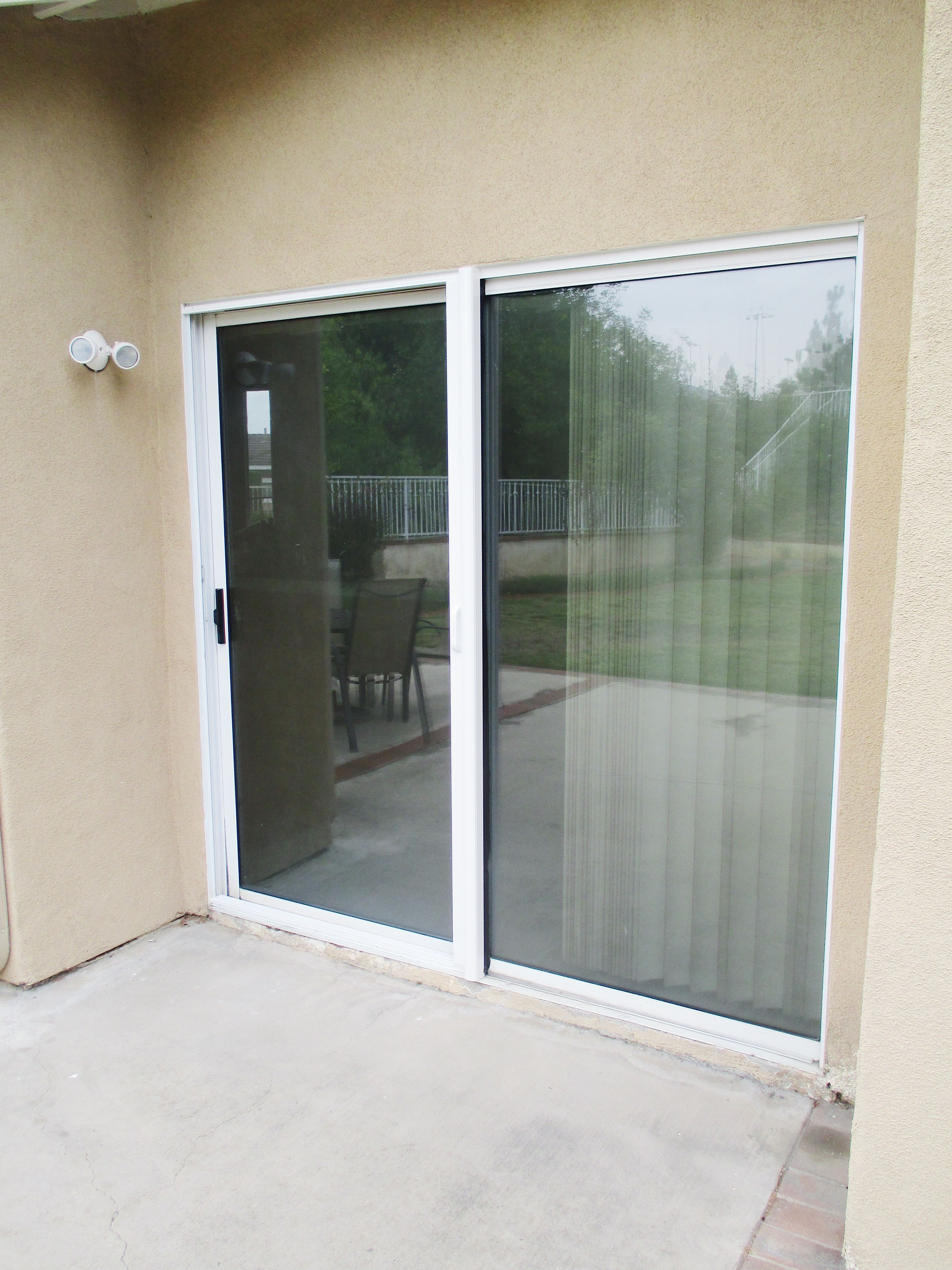 in with door seasonguard white screen mesh retractable k doors x black p