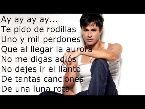 Enrique Iglesias Loco Ft Romeo Santos Lyrics